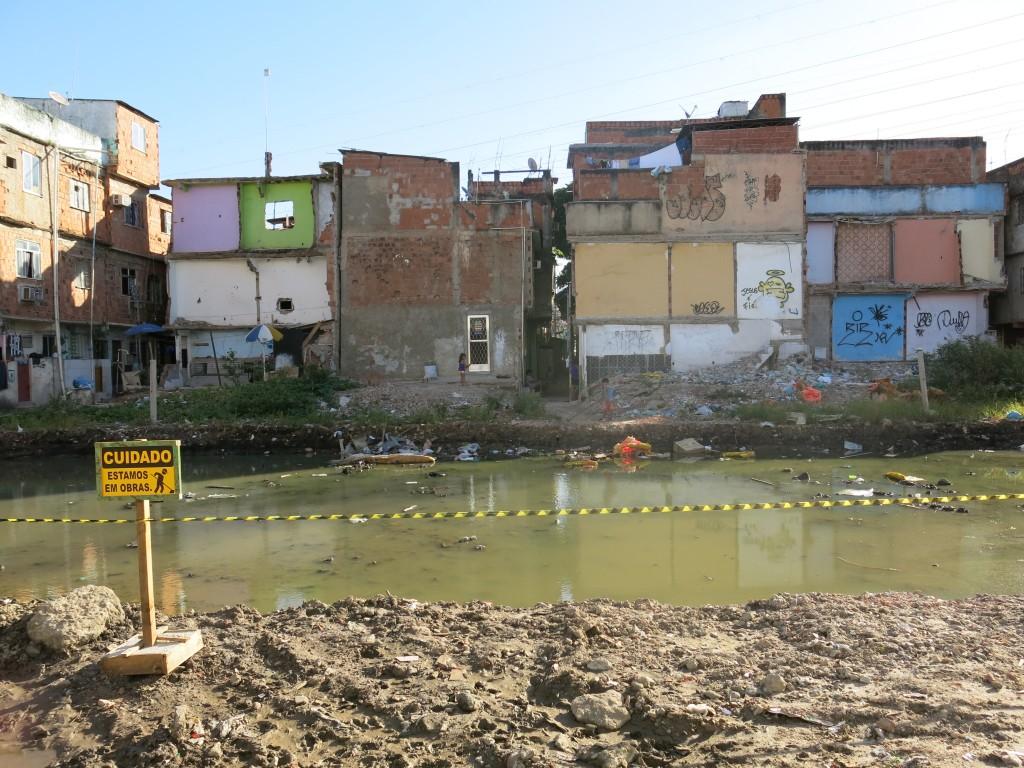 Favela, the war zone