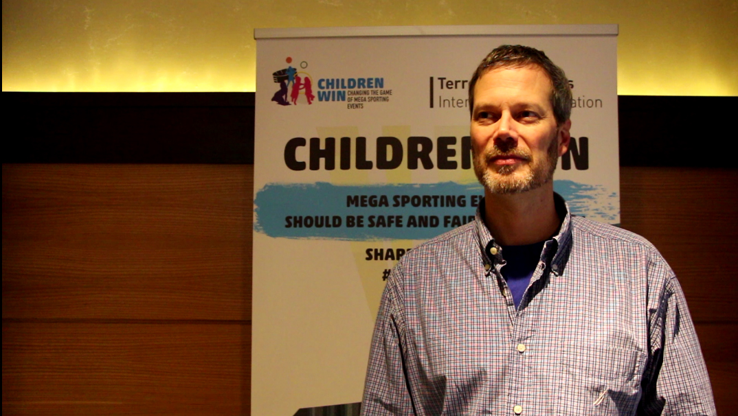 Thomas Carter : Child Labour and Mega Sporting Events
