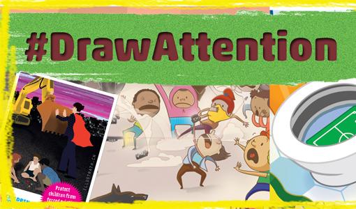 #DrawAttention : Cartoon Contest