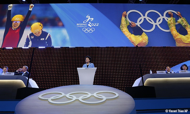 China: 2022 Olympics, a test for Human Rights