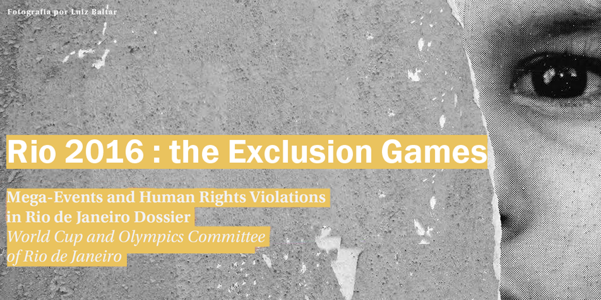 Rio 2016 : the Exclusion Games