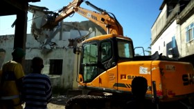bulldozer eviction