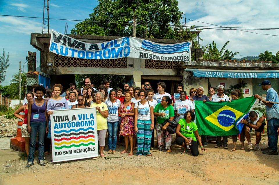 Manifesto: Violence and Housing Rights in the Rio Olympics