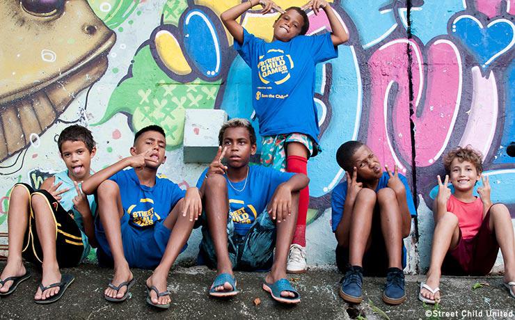 Street Child Congress in Rio de Janeiro