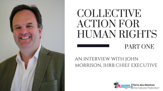 Taking 'collective action' on human rights and Mega Sporting Events – interview with IHRB Chief Executive John Morrison