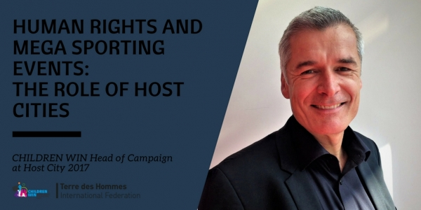 Children Win Head of Campaign speaks at Host City 2017