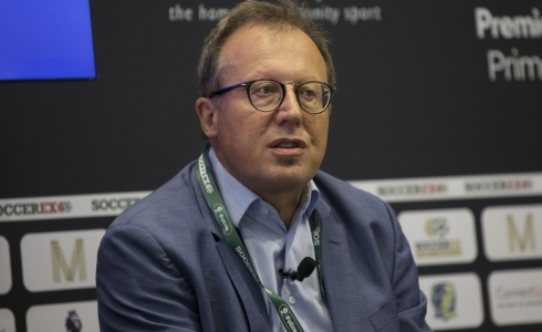 Patrick Gasser from UEFA © Brownlee/Imagine Images for Soccerex)
