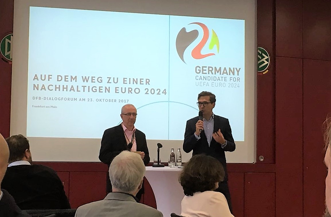 Key stakeholders discuss sustainability and human rights in Euro 2024 bid