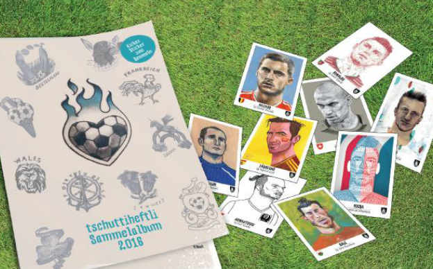 Designers required! World Cup sticker album to support Terre des Hommes