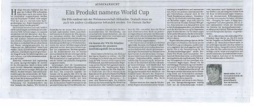 A product called World Cup – Süddeutsche Zeitung