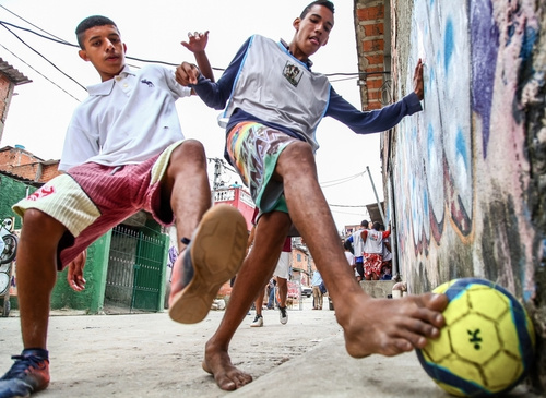 São Paulo: kickoff of the Street Football World Cup