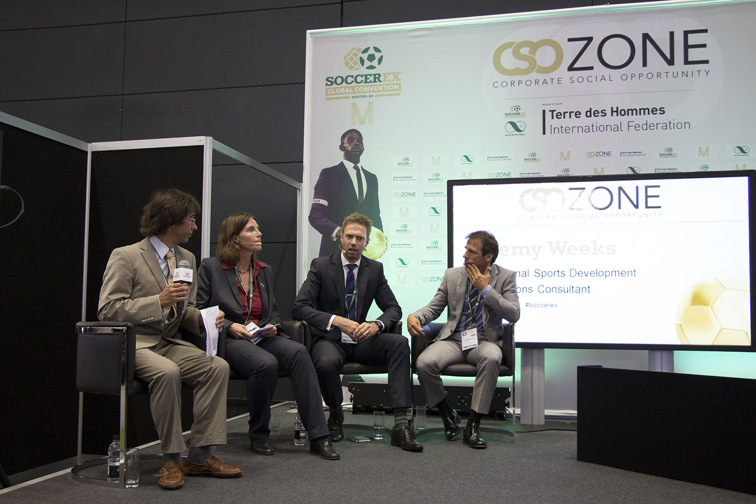 Our participation at Soccerex 2014 Global Convention