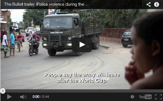 The Bullet trailer: Police violence during the World Cup™ 2014