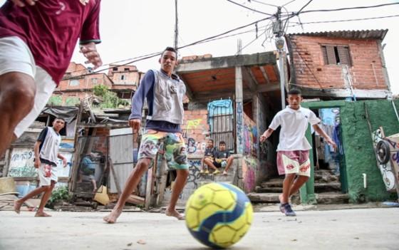 São Paulo Street Football Network in Brazil