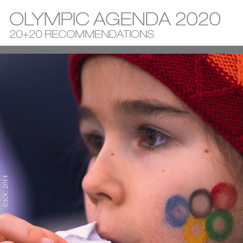 IOC's Agenda 2020  :  clean up of Mega Sporting Events