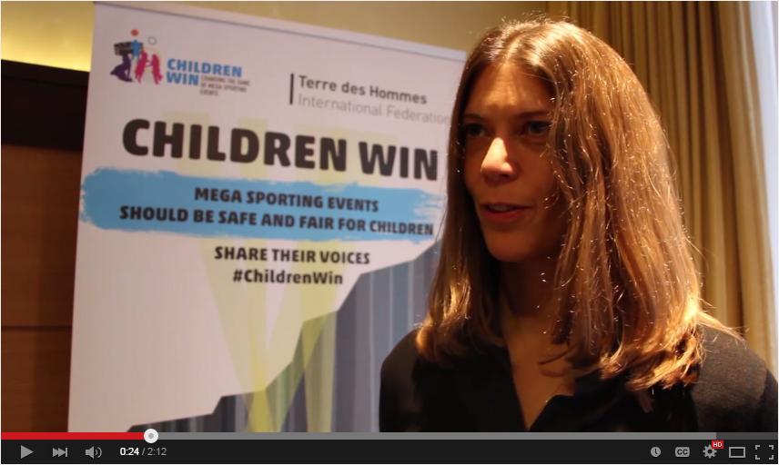 Liz Twyford : UNICEF and Glasgow 2014