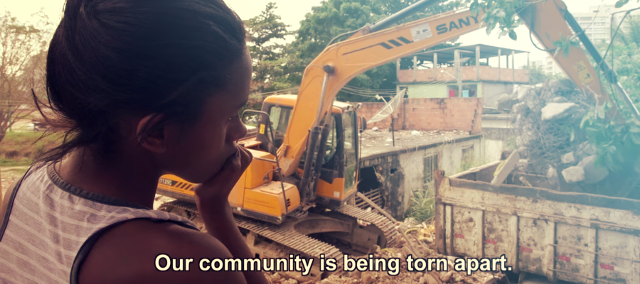 The Fighter : my community is being torn apart before the Rio 2016 Olympics