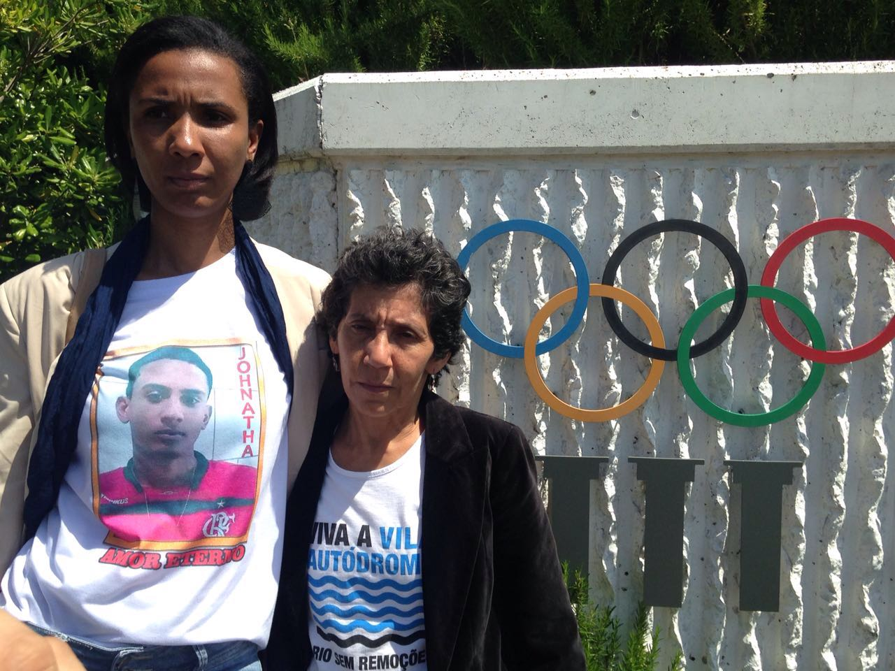 Mothers from Rio favelas meet the IOC