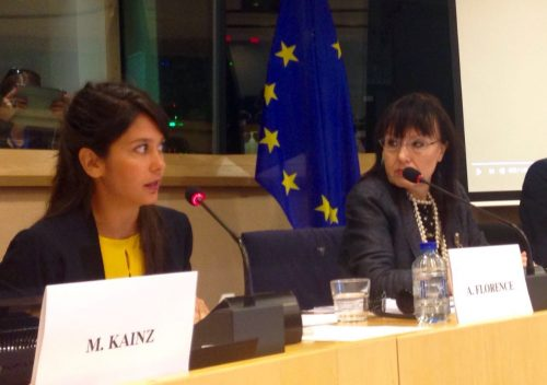 Our Strategic Alliance Officer Andrea Florence speaks at the European Parliament