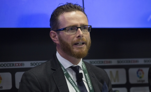 Guy Price from UNICEF © Soccerex/Brownlee