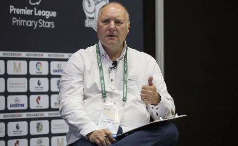John Wroe from Street Child United © Soccerex/Brownlee